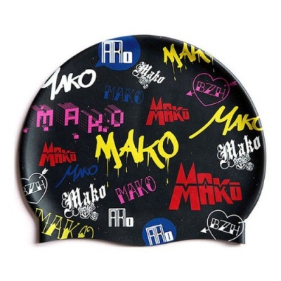 Bonnet de bain MAKO Logo