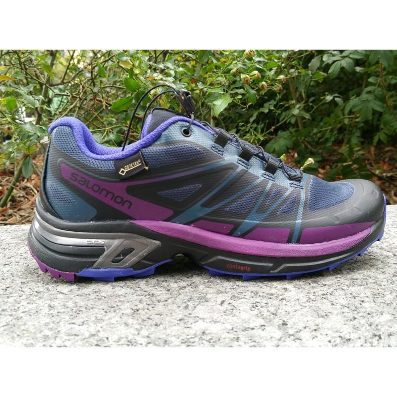 PE18 Wings pro 2 GTX femme violet/noir