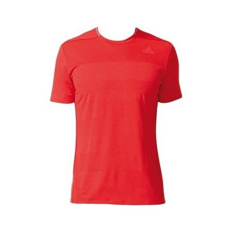 Tee shirt ADIDAS Supernova homme rouge