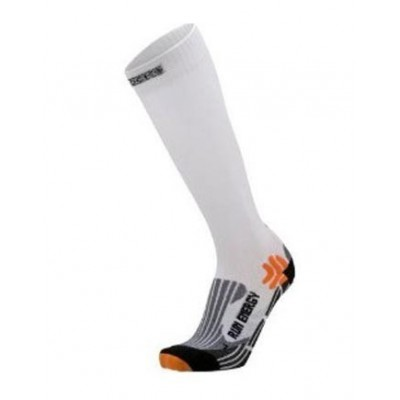 Chaussettes X-SOCKS Run energizer blanches
