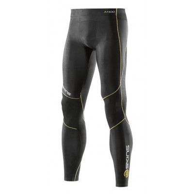 Collant compression SKINS A400 homme noir/jaune