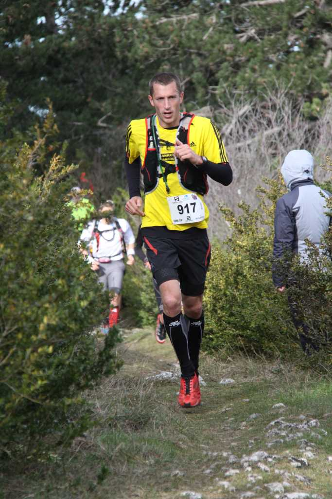 Trail du Ventoux 2014 - Pendant l'ascension
