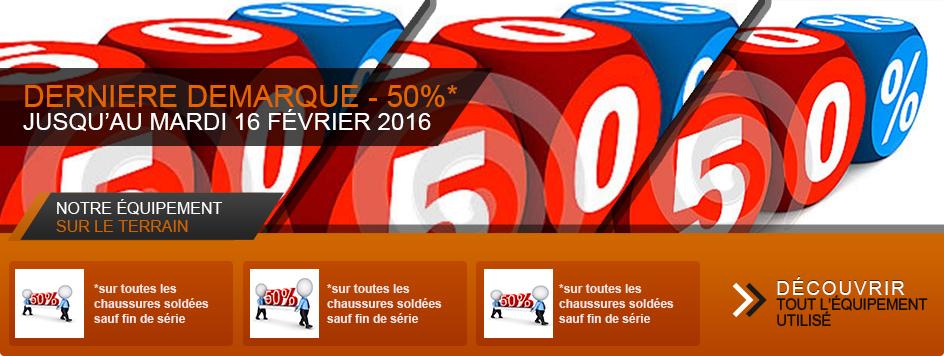 Chaussures soldées à 50% — Soldes d'hiver 2018