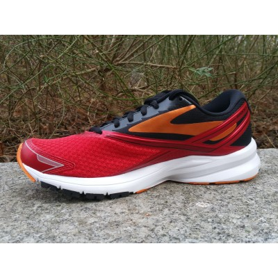 BROOKS Launch 4 Homme rouge...