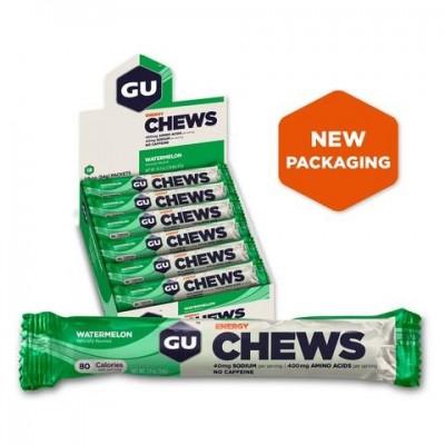 8 Gommes GU Chews Pastèque
