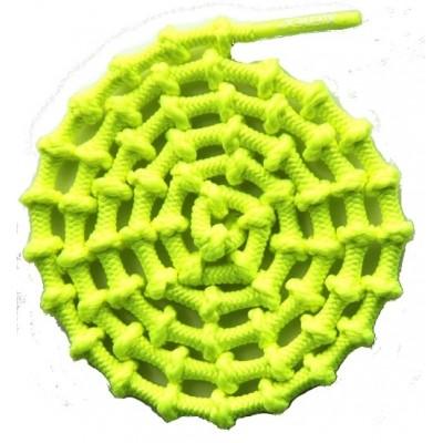 Lacets XTENEX jaune fluo
