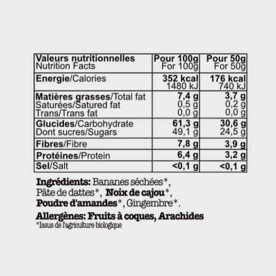 Barre Energetique Bio COOK...