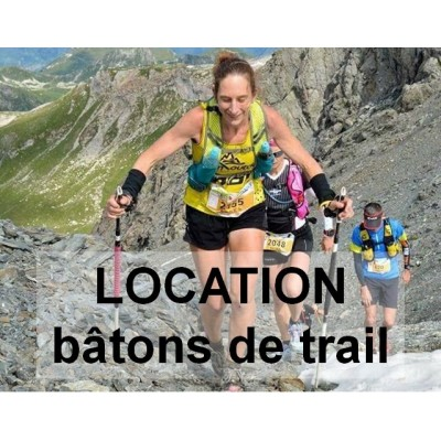Location bâtons TRAIL -...