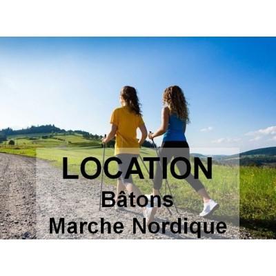 Location bâtons MARCHE...