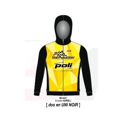 Sweat TEAM OUTDOOR POLI