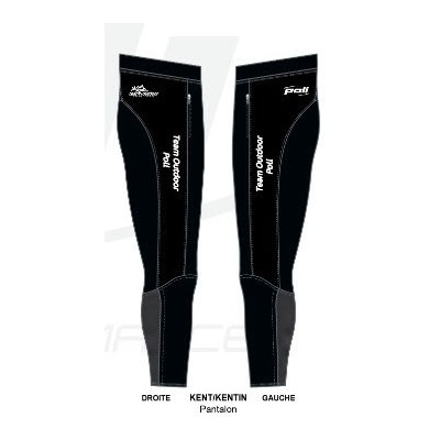 Pantalon Team Outdoor Poli...