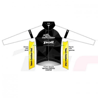 Maillot Vélo manches...