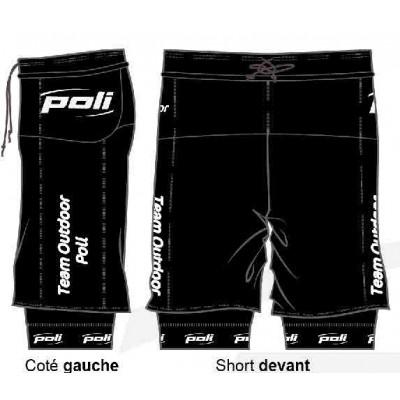 Short 2 en 1 avec poches...