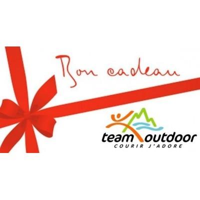 Chèque cadeau Team Outdoor...