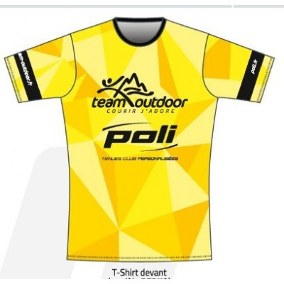 Tee-Shirt TEAM OUTDOOR POLI...