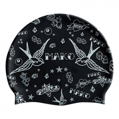 Bonnet de bain MAKO Tattoo