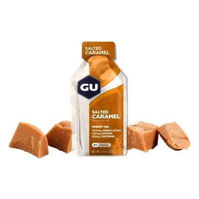 GU Gel Energy caramel...