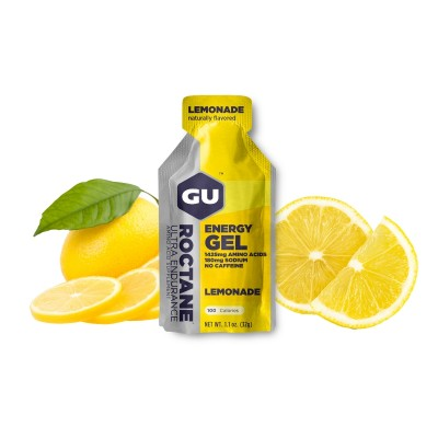GU Gel Roctane lemonade