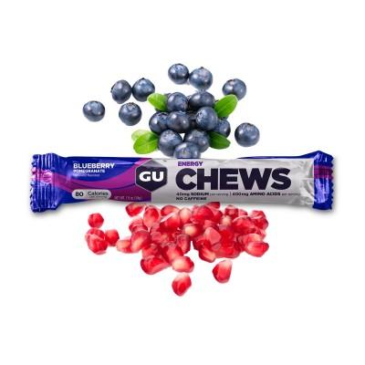 GU Chews 8 Gommes myrtille