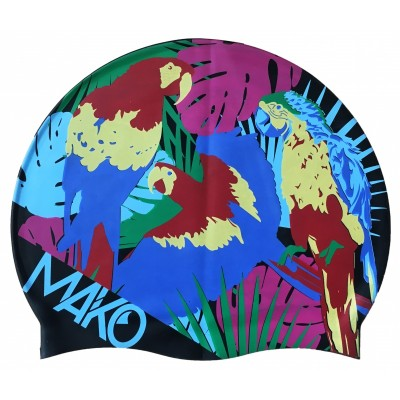 Bonnet de bain MAKO Tropical