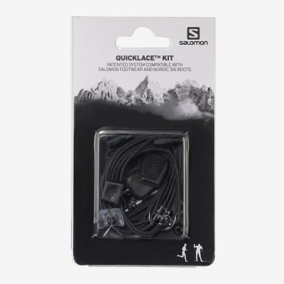 Quicklace Kit SALOMON noir