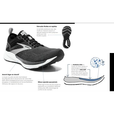 BROOKS Ricochet 3 Homme...