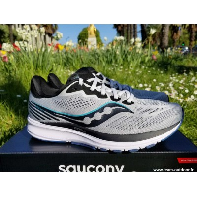 SAUCONY Ride 14 Homme fog /...