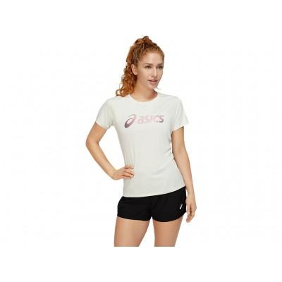 Tee-Shirt ASICS Silver Top...