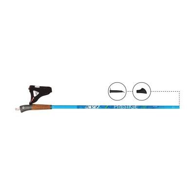 Bâtons KV+ Prestige Clip bleu