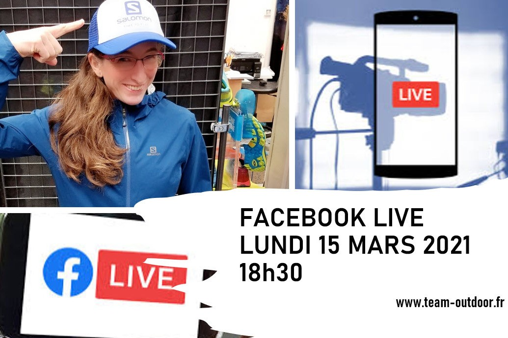 Facebook Live TEAM OUTDOOR 15 mars 2021